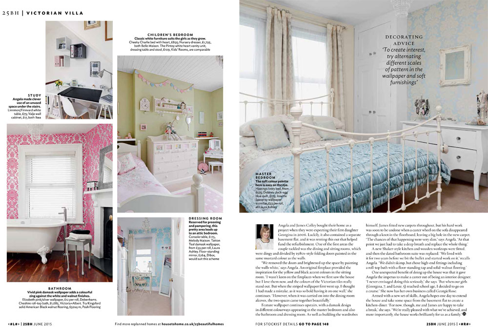 25 Beautiful Home Magazine Feature